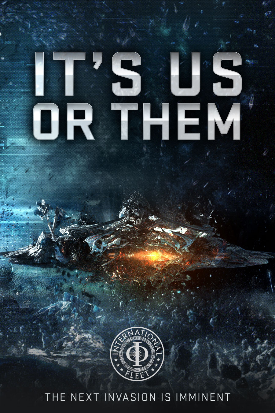 Ender's Game Poster - It's Us or Them - HeyUGuys