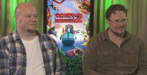 Directors Cody Cameron and Kris Pearn - Cloudy with a Chance of Meatballs 2