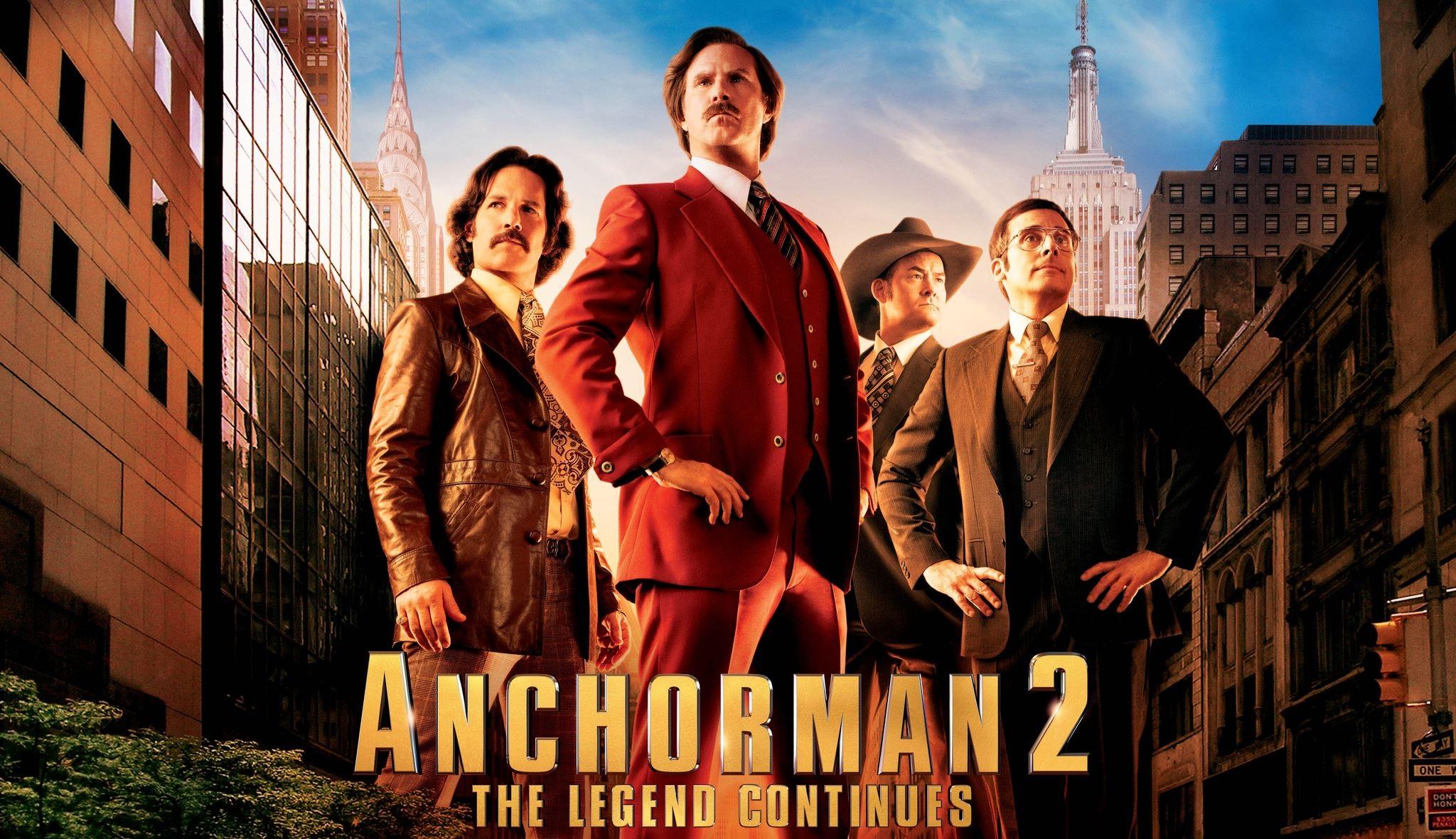 Anchorman 2: The Legend Continues (2013) - IMDb