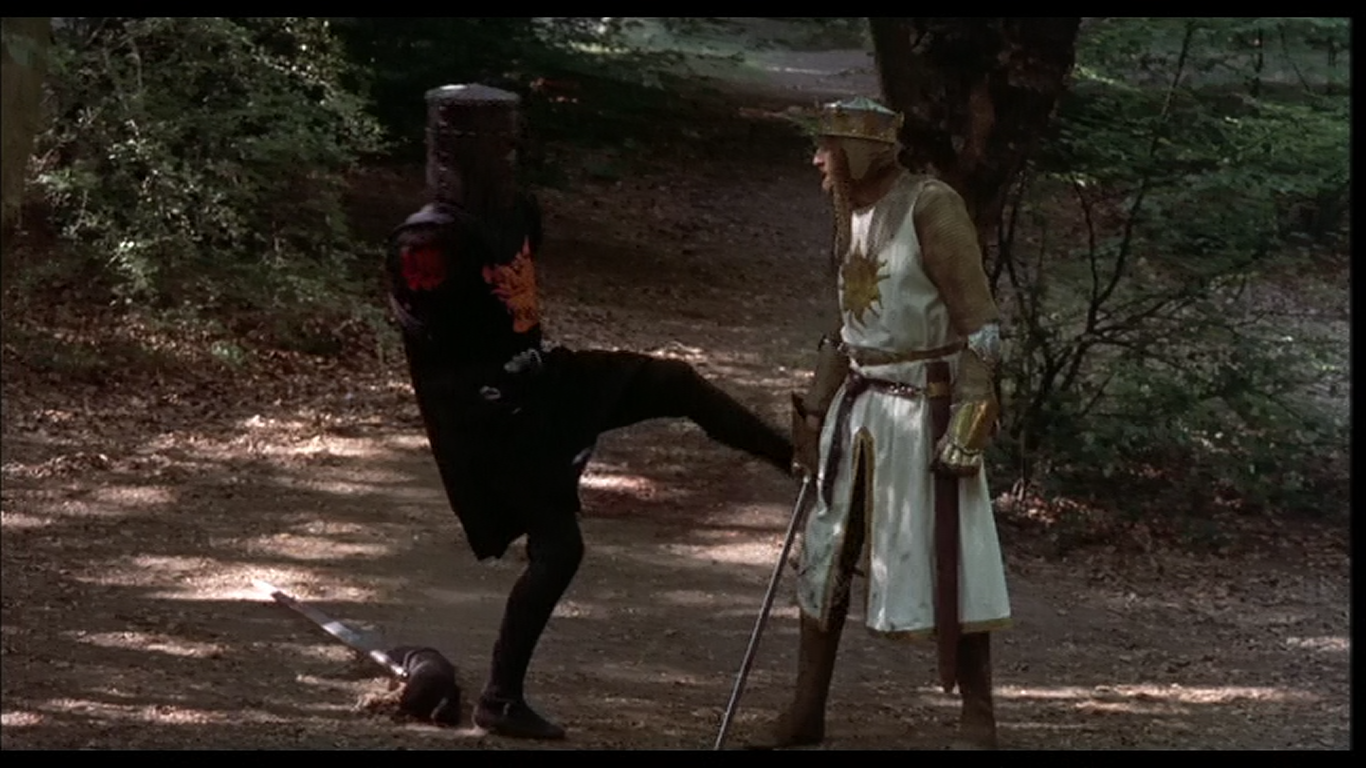 an analysis of the satire monty python and the holy grail How monty python and the holy grail influenced film by satirizing it  i first saw monty python and the holy grail with my grandmother at  holy grail is never.