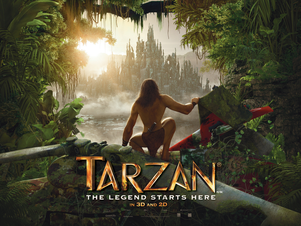 Samar 2013 Movie Poster: Tarzan 3D Trailer
