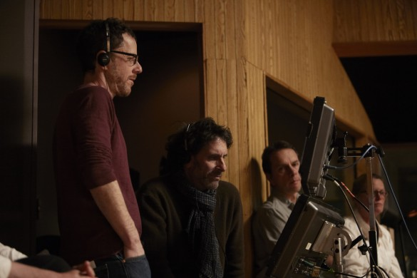 The-Coen-brothers-on-set-of-Inside-Llewyn-Davis