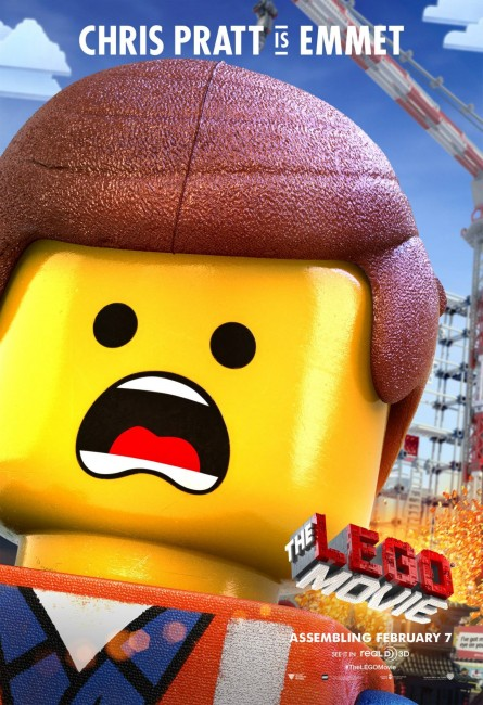The Lego Movie Character Posters - Emmet, Wyldstyle and Lord Business