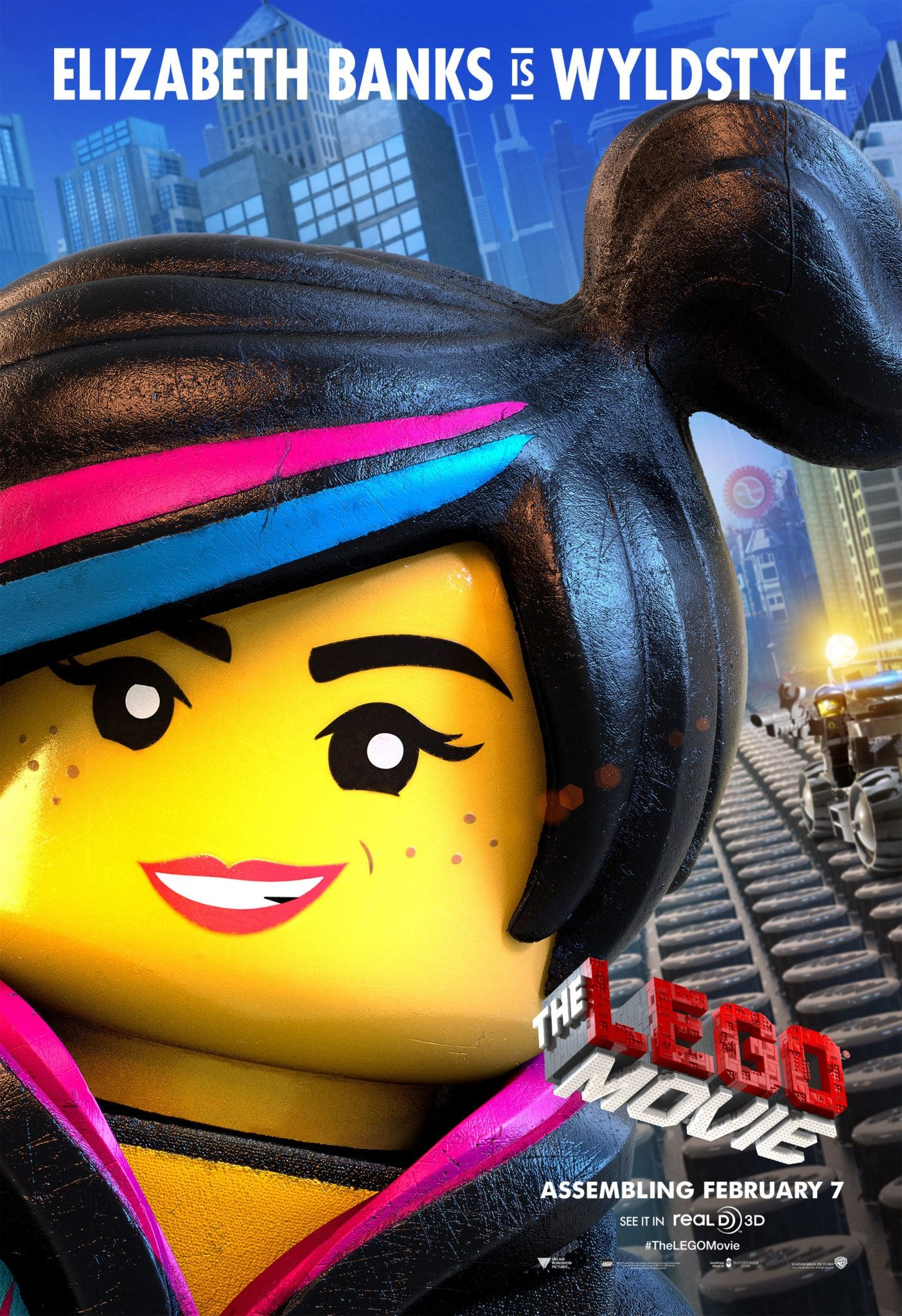 The Lego Movie Character Posters - Emmet, Wyldstyle and ...