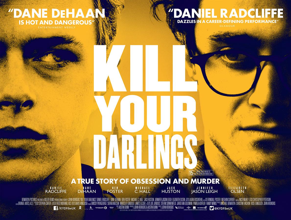 kill your darlings uk poster heyuguys