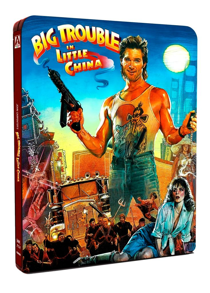 big trouble in little china Big trouble in little china is a 1986 american fantasy martial arts comedy film directed by john carpenter and starring kurt russell, kim cattrall, dennis dun, and james hong.