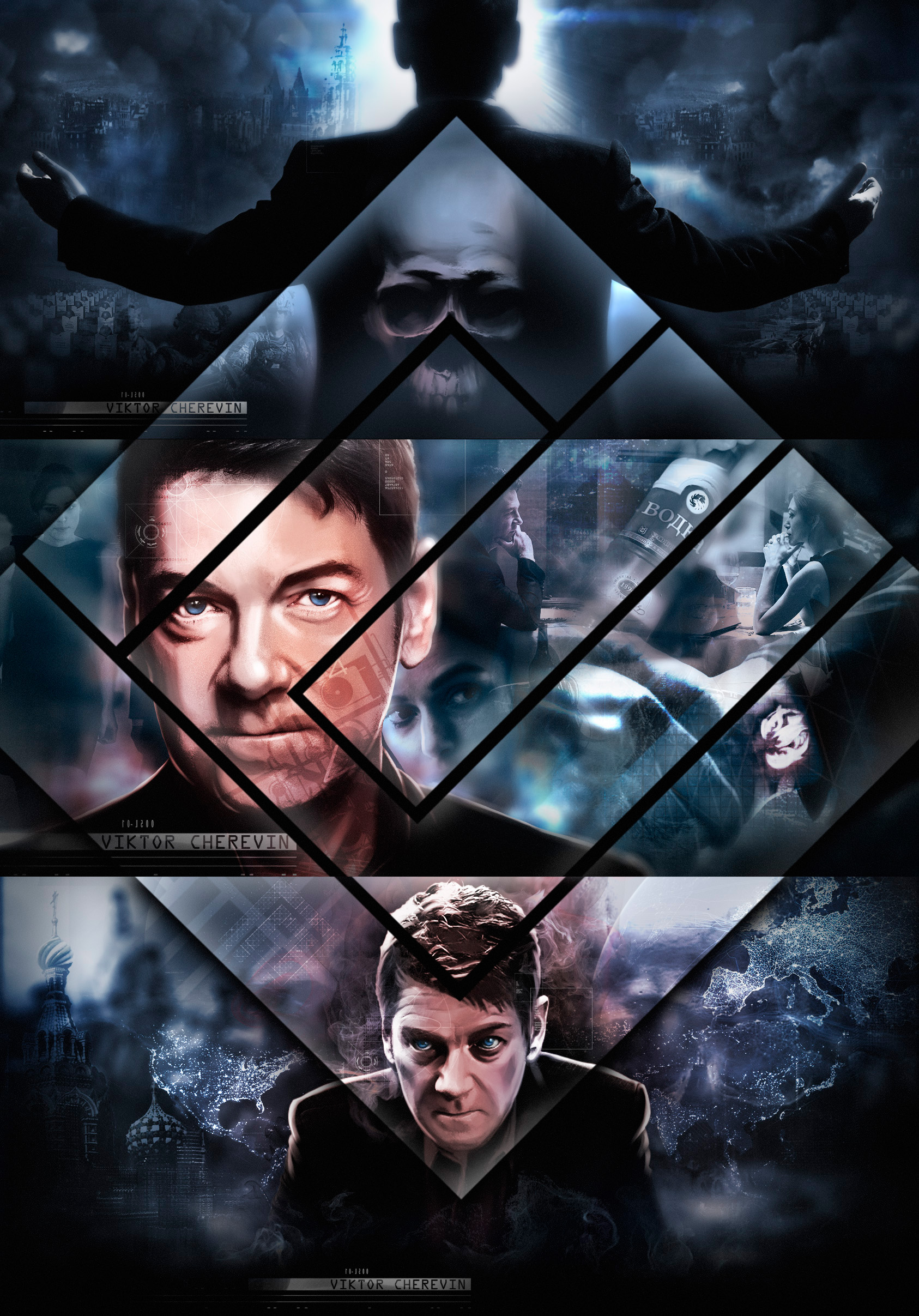 Jack Ryan Shadow Recruit Comic Book Poster (Kenneth ...