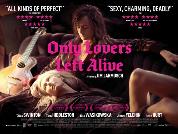 Only Lovers Lefts Alive Poster