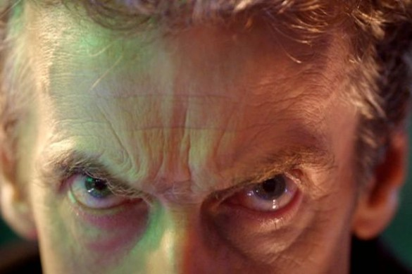Peter Capaldi Eyes The Doctor