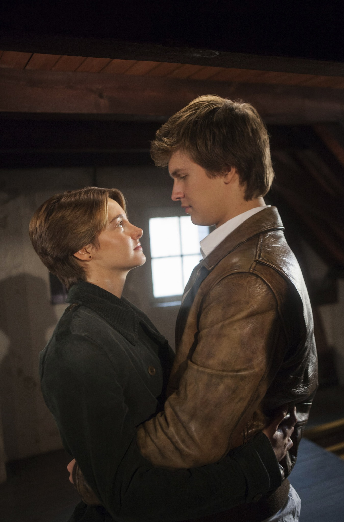 Shailene Woodley and Ansel Elgort in The Fault in Our ...
