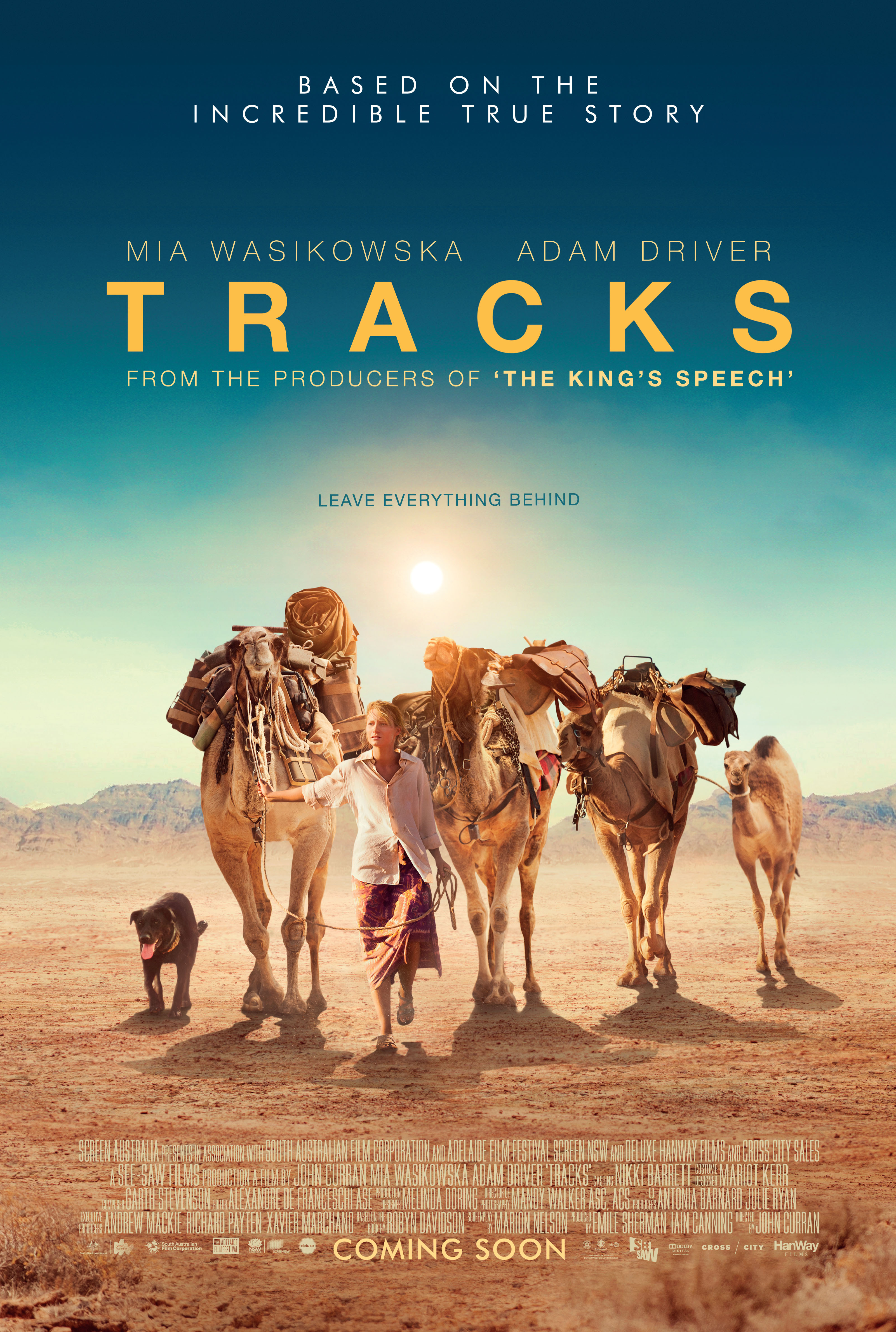 Tracks Movie Review & Film Summary (2014) | Roger Ebert