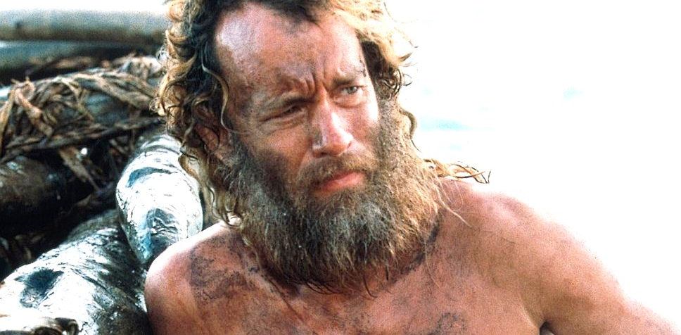a review of cast away a film starring tom hanks Film review robert zemeckis has had a hand in some of the most popular and enjoyable movies to date, ranging from the back to the future films, who framed roger rabbit and forrest gump cast away is no exception starring zemeckis favourite tom hanks, cast away follows chuck noland (hanks),.