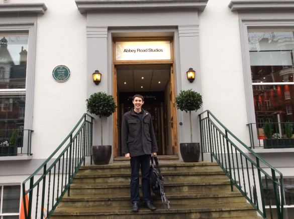 Dave at Abbey Road