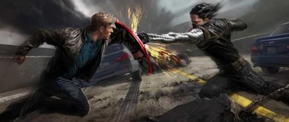 Captain America Vs Winter Soldier