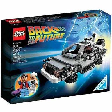 DeLorean-LEGO