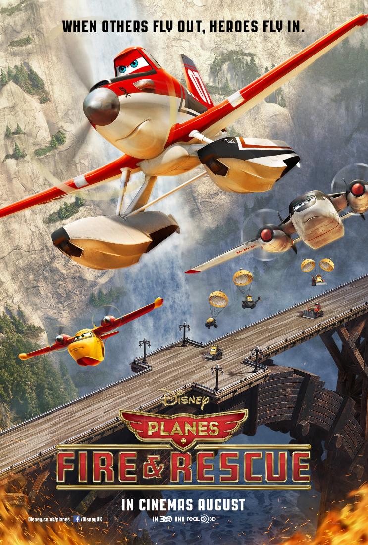 თვითმფრინავები 2 : ცეცხლი და წყალი (ქართულად)  Planes: Fire and Rescue Самолеты: Огонь и вода
