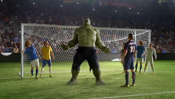 Marte Recomendación Interpretación  Nike World Cup 2014 Commercial
