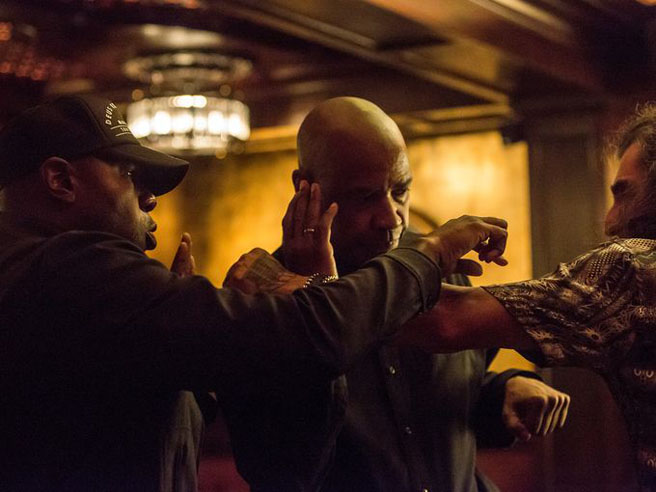 New Images from The Equalizer Starring Denzel Washington