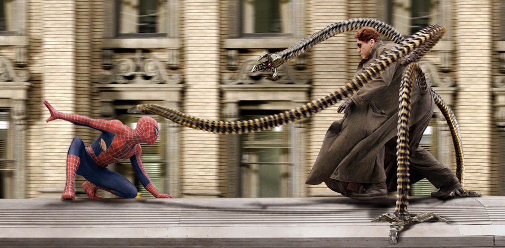 spiderman vs doctor octopus heyuguys