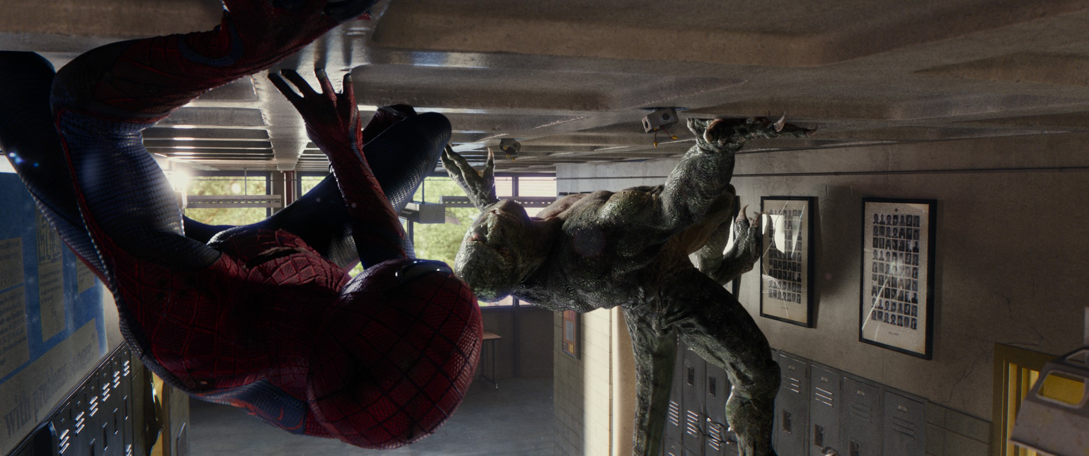 Spider-Man vs. Lizard - HeyUGuys