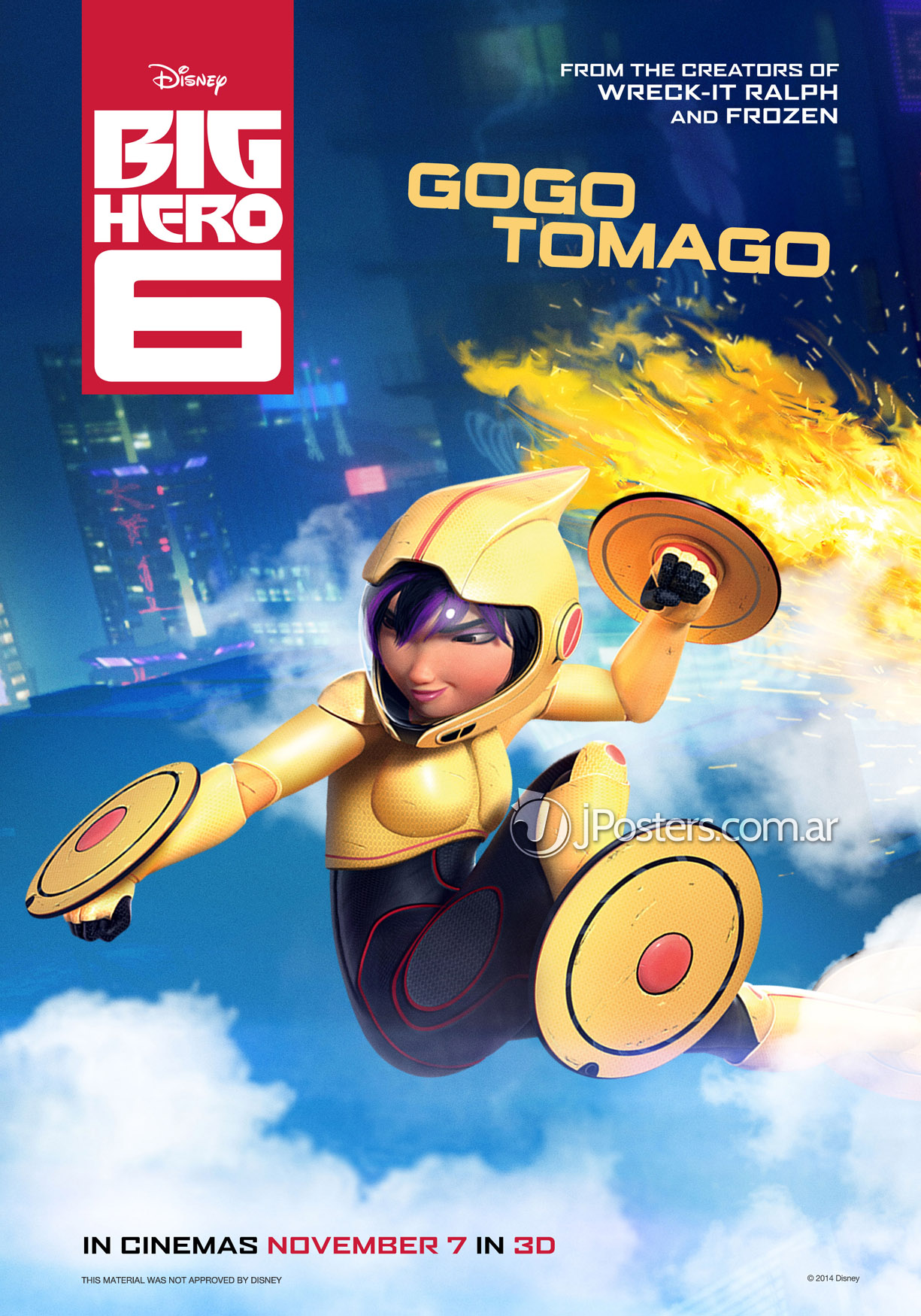 big hero 6 movie The news out of d23 expo may have been dominated by avengers: infinity war, star wars: the last jedi, theme park expansions, and an amazing slate of upcoming animated movies, but there was still good news for san fransokyo's greatest protectors, big hero 6 disneyxd dropped the first look at the.