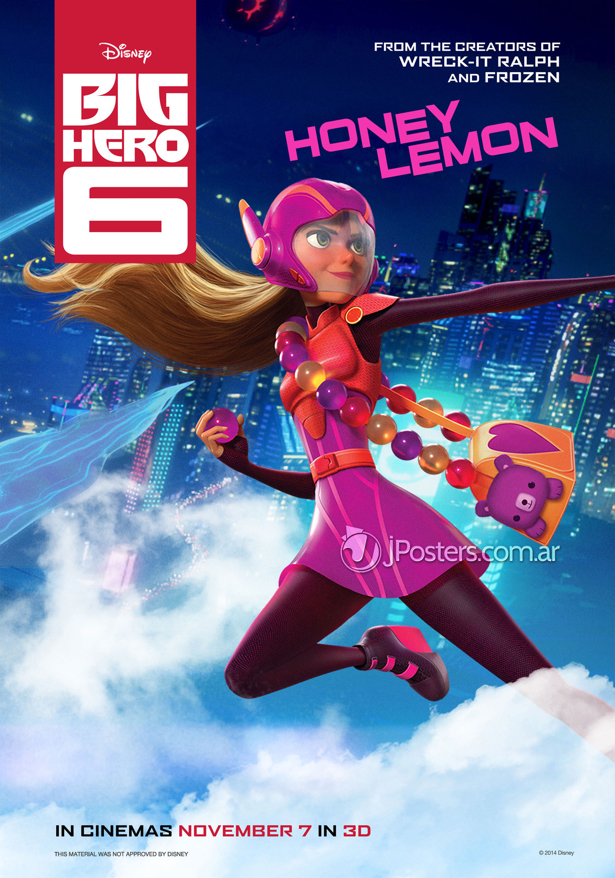 ... of Character Posters for Marvel and Disney Animation's Big Hero 6