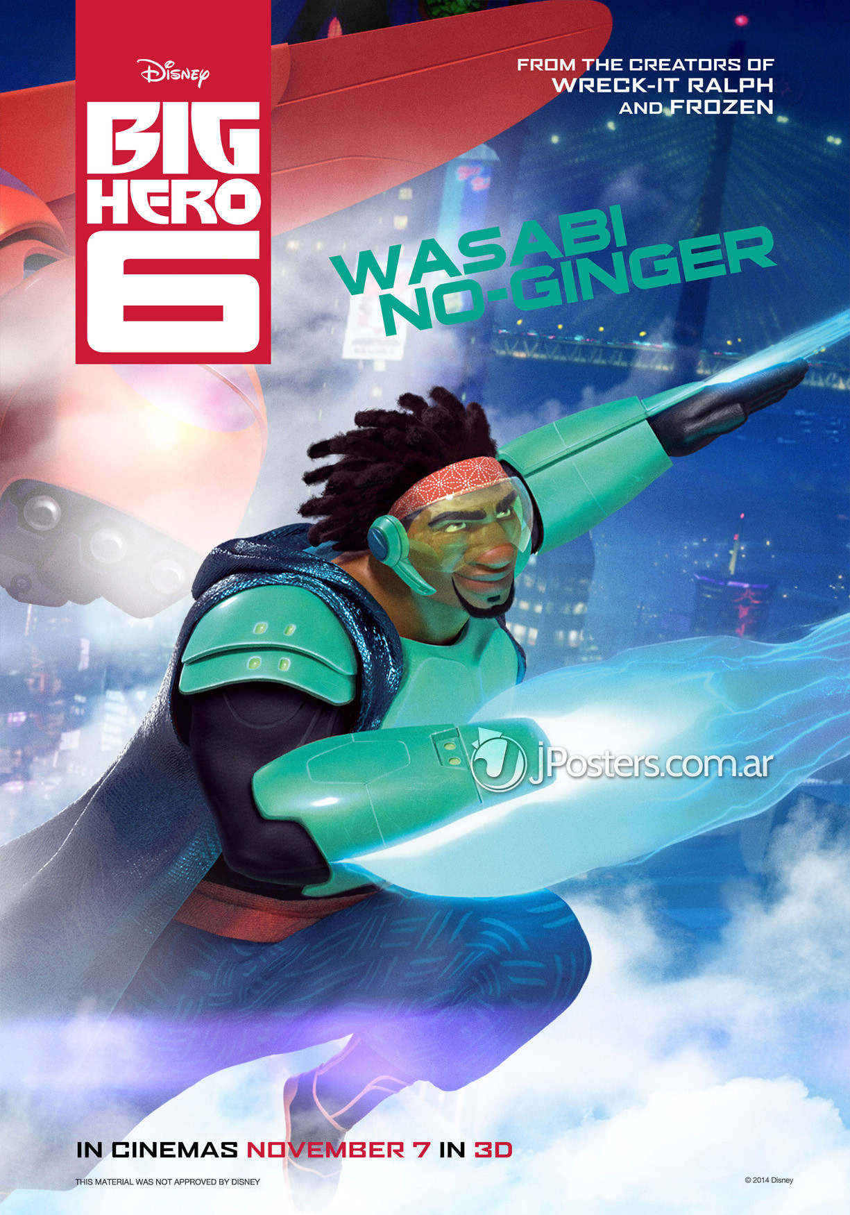 Big Hero 6 Cartoon Characters Names : Character posters for marvel and disney animation s big hero