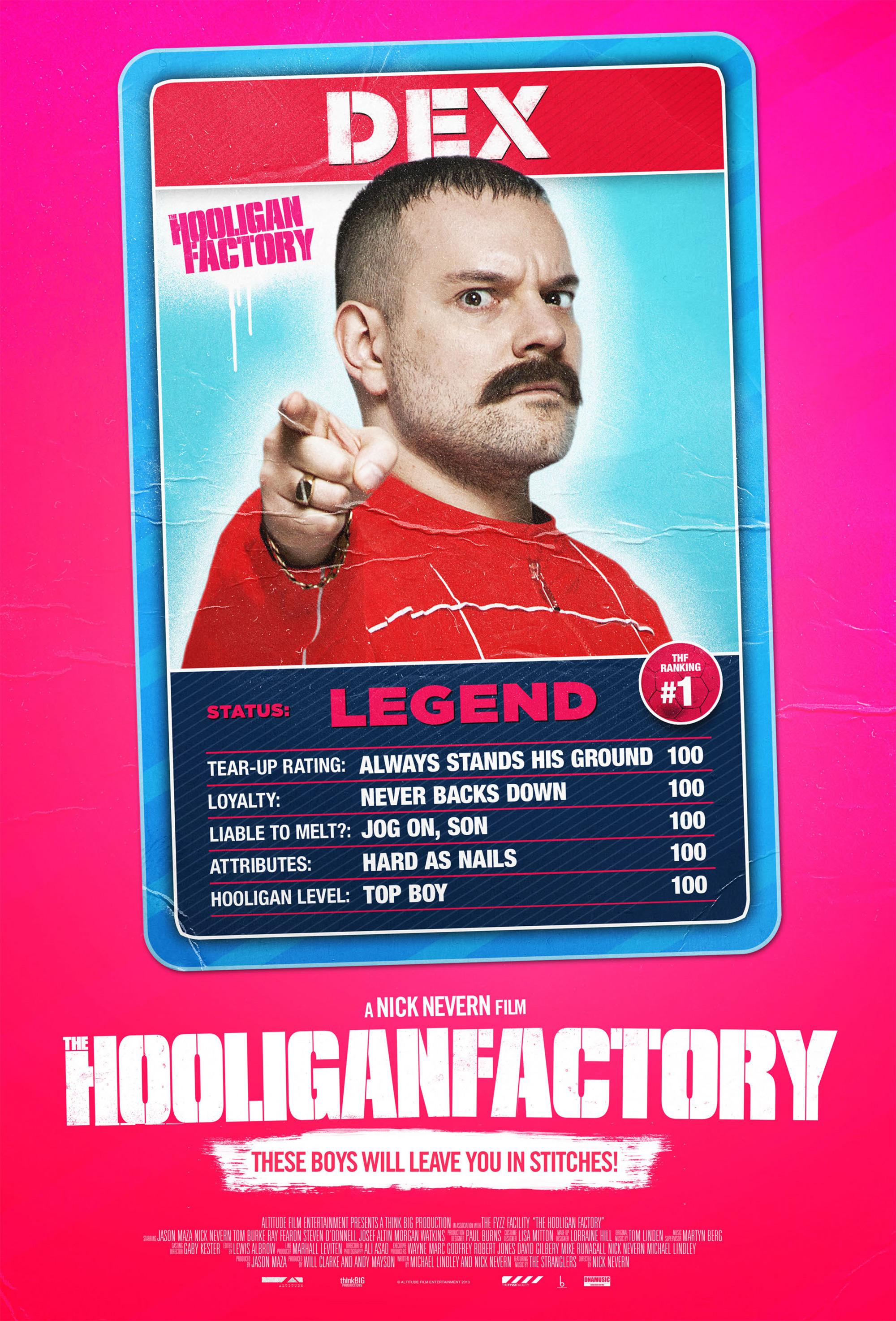 The Hooligan Factory The Hooligan Factory Posters