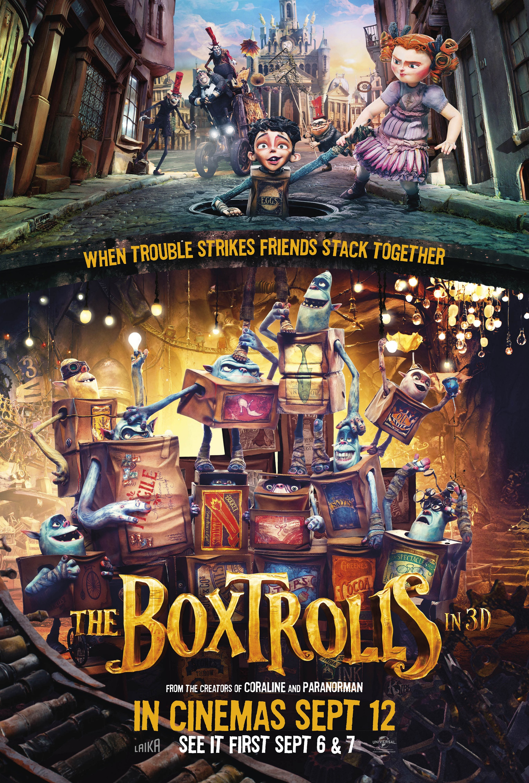 The Boxtrolls poster - HeyUGuys