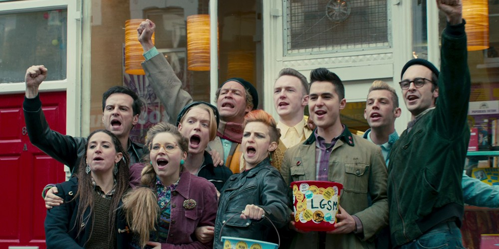 Pride picked up a surprise Best Film nomination at Golden Globes 2015