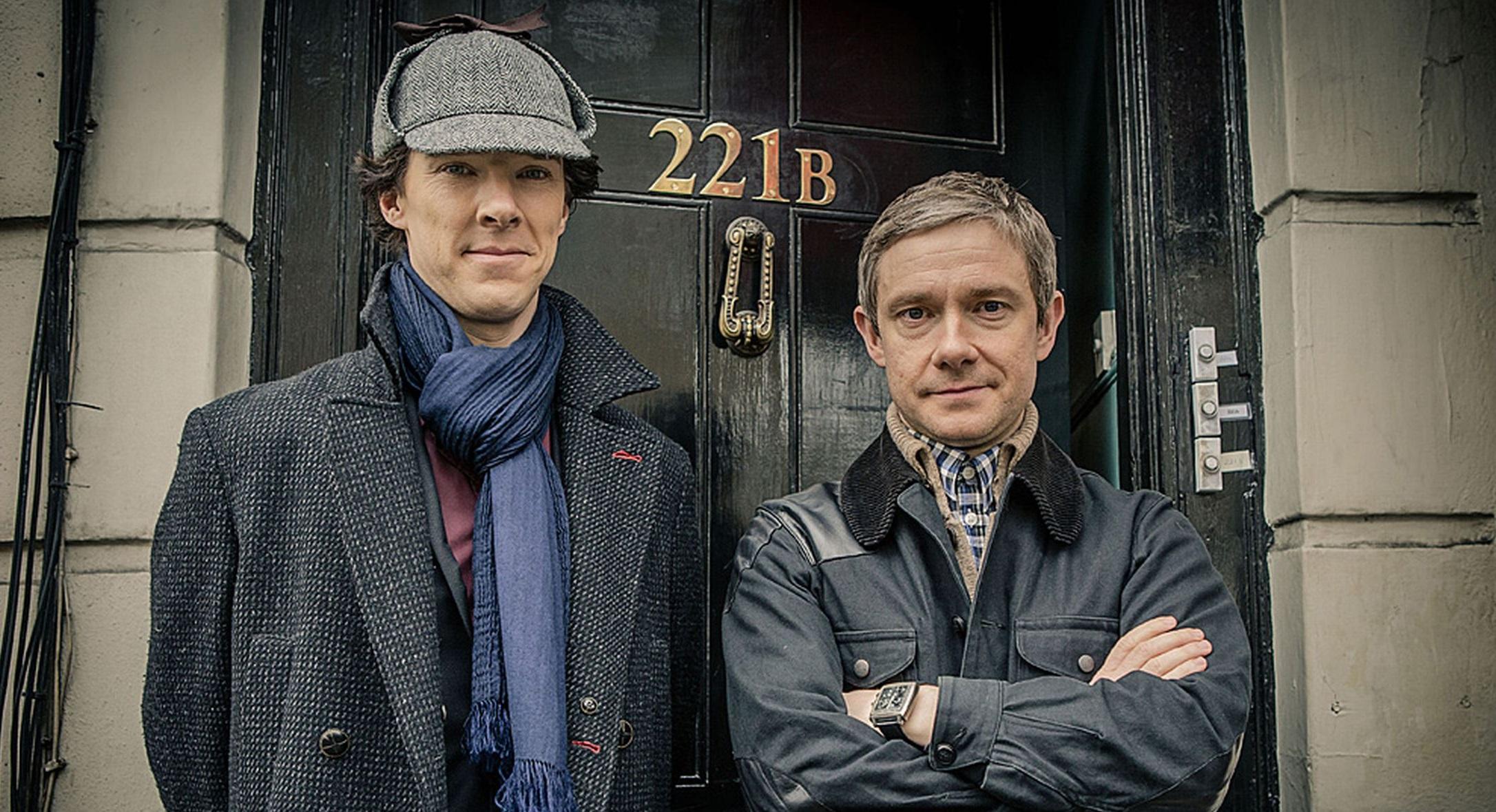 Résultat d'images pour Sherlock holmes 2017 BBC