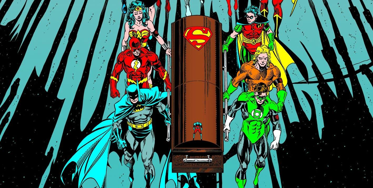 death of superman comic pdf