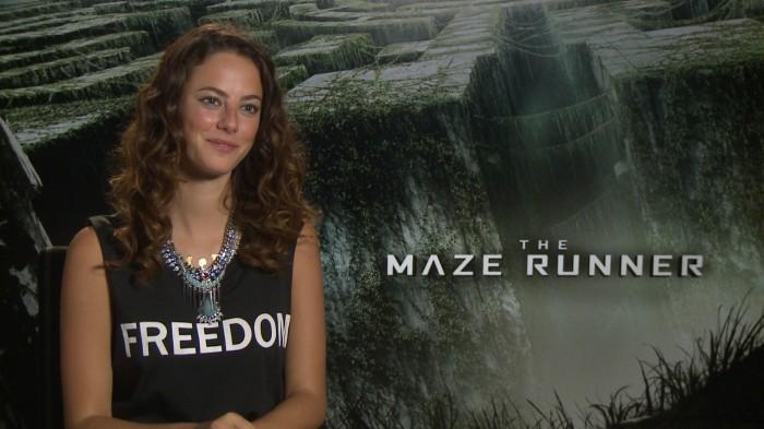 Kaya Scodelario - The Maze Runner - Die in a Gunfight