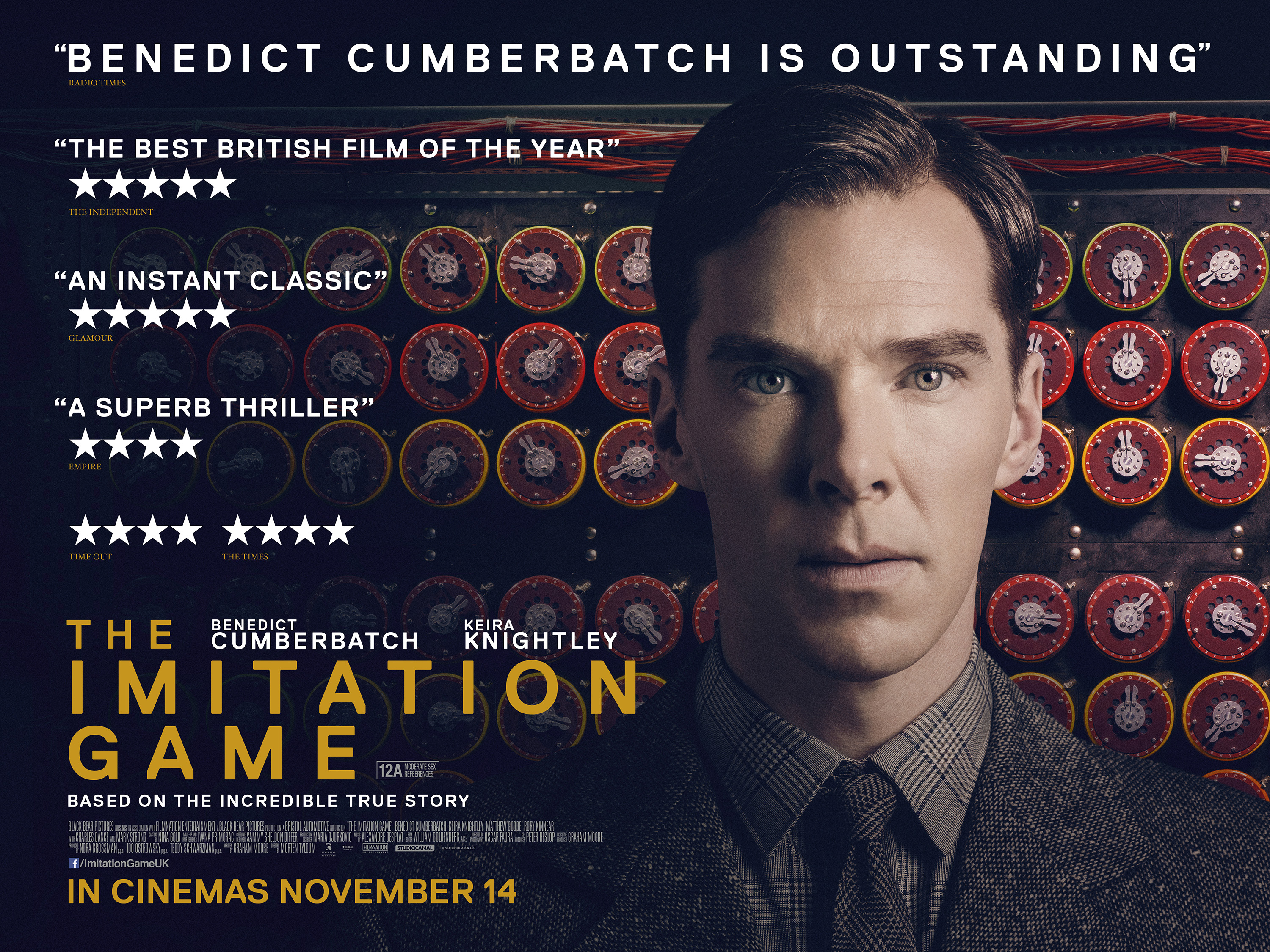 The Imitation Game Final Poster - HeyUGuys