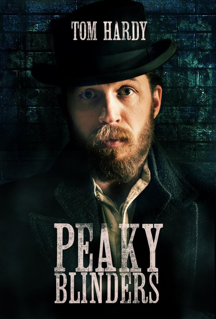 Peaky Blinders Poster Tom Hardy Heyuguys