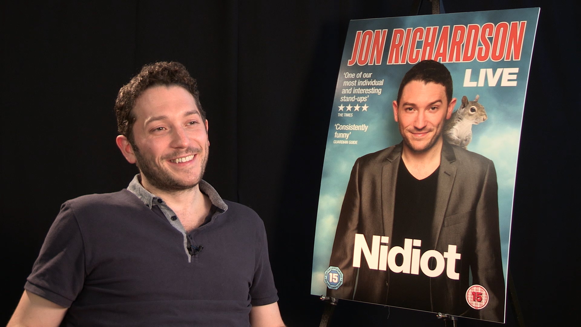 Comedian jon richardson wedding