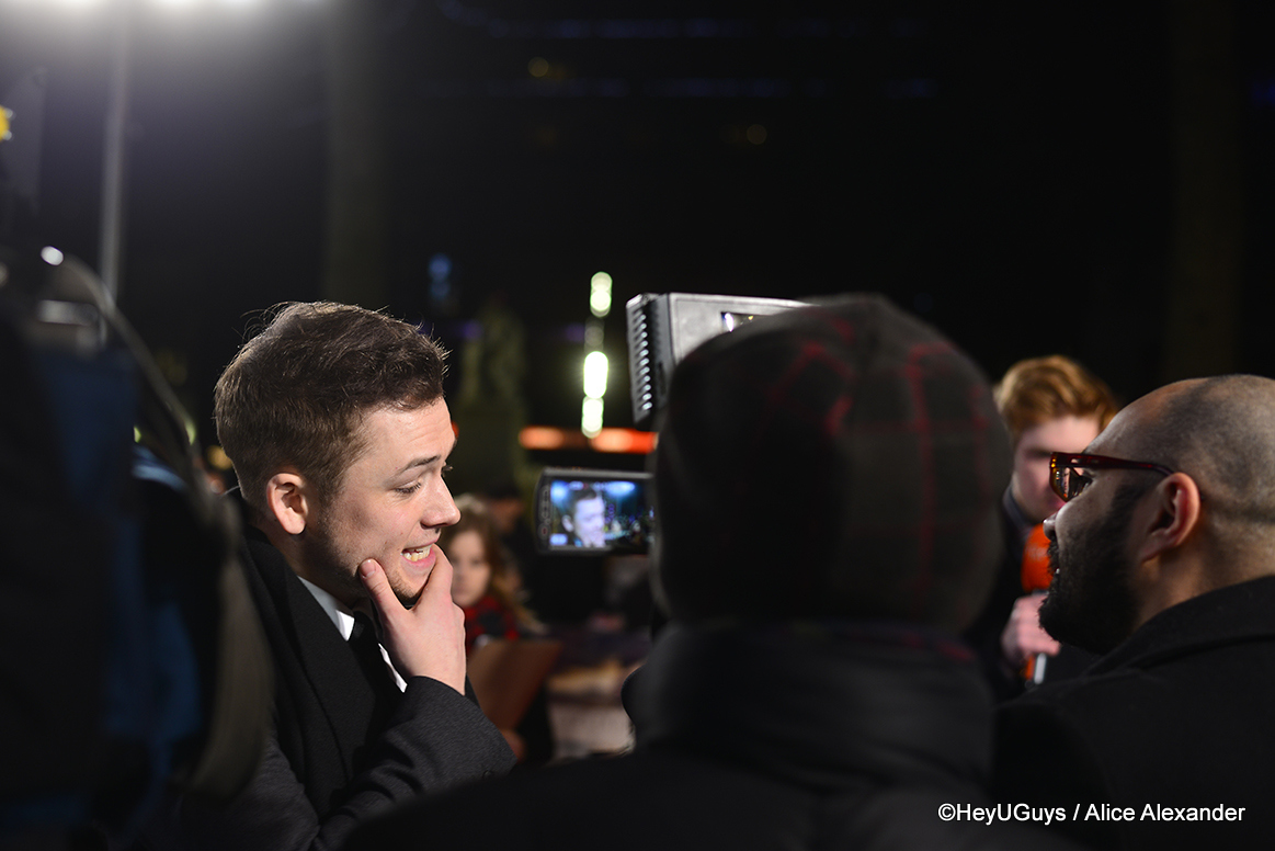 Kingsman The Secret Service Interview Taron Egerton: Kingsman: The Secret Service Sequels On The Way?