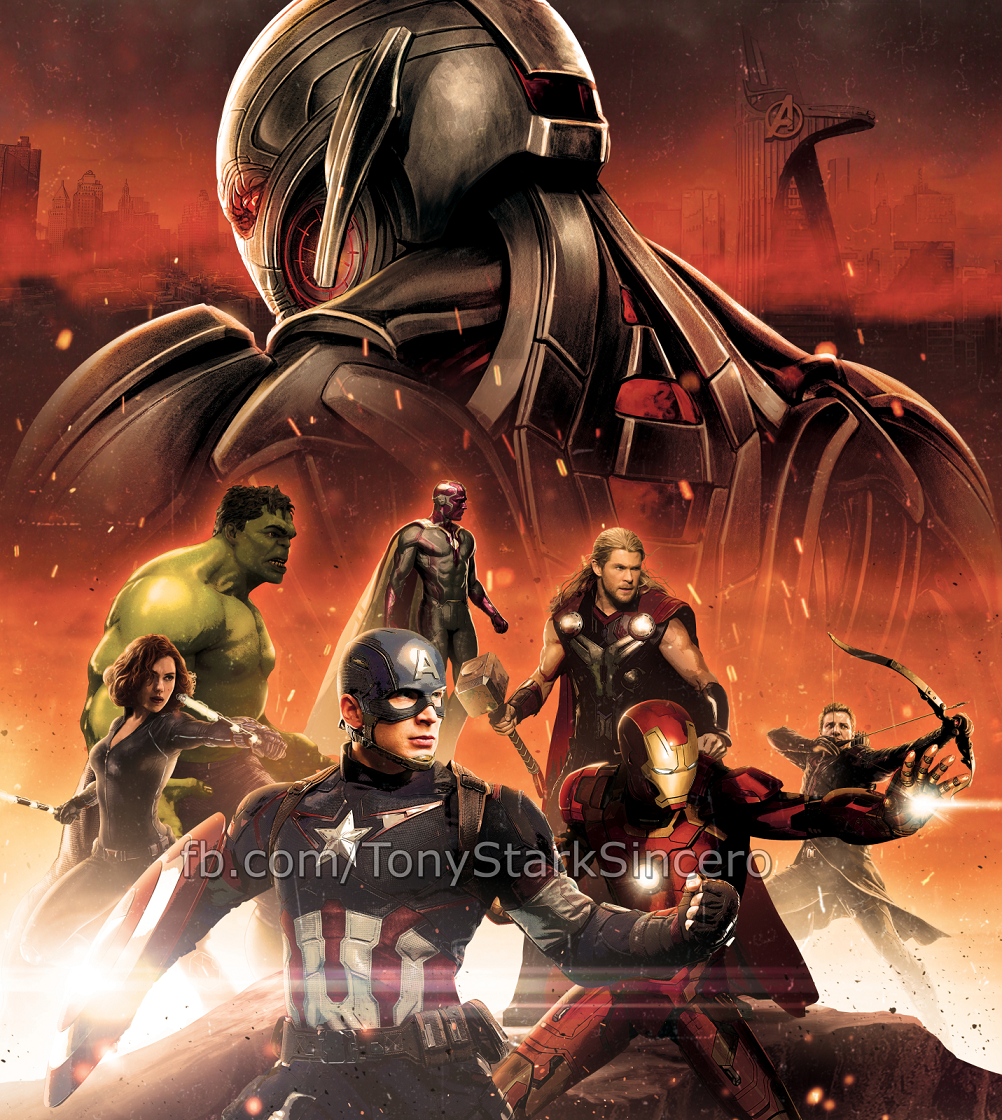 Avengers: Age of Ultron Promo Art and Posters Surface