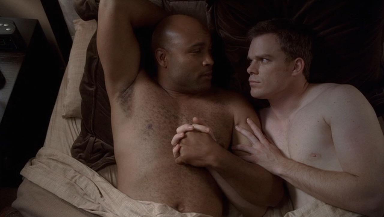 michael c hall shirtless gay six feet under   heyuguys