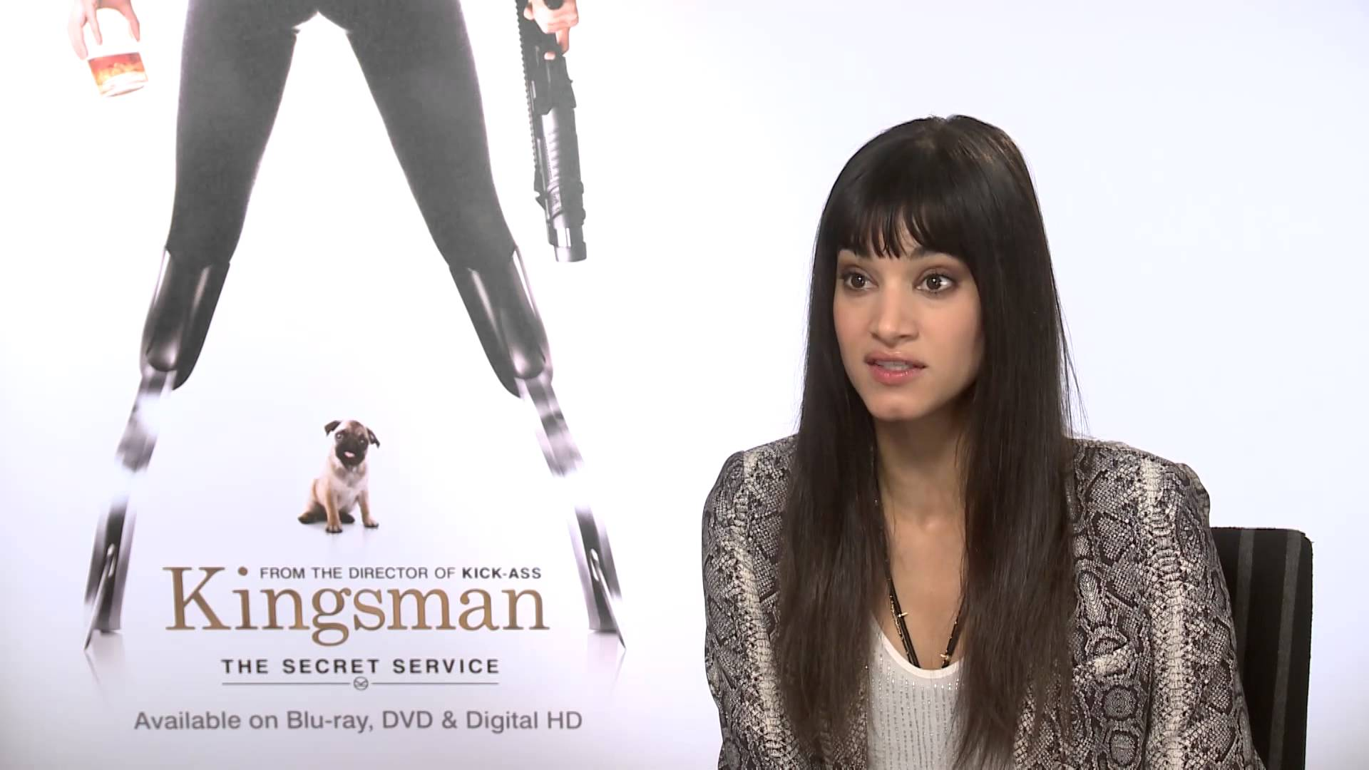 Kingsman The Secret Service Interview: Exclusive Interview: Sofia Boutella On Playing Evil In