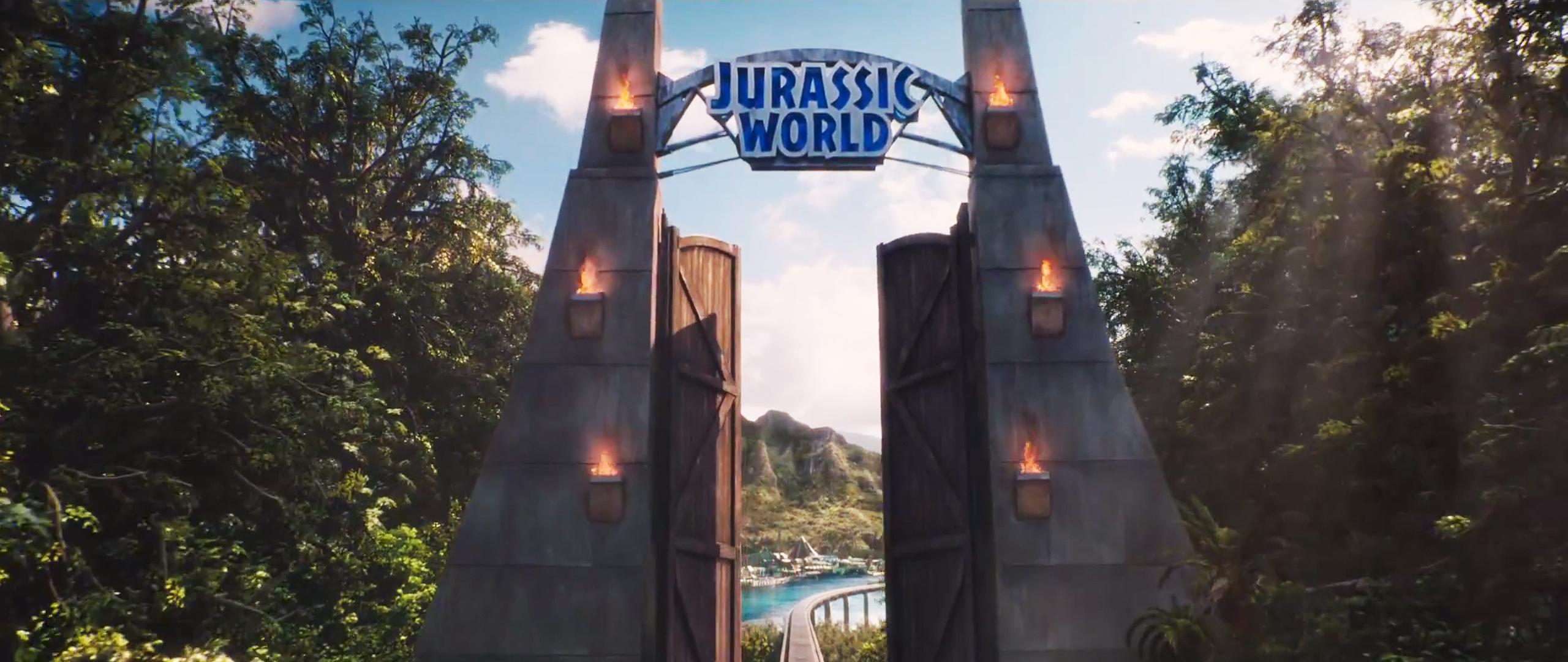 Birthday Decoration Home Jurassic World Gate Heyuguys