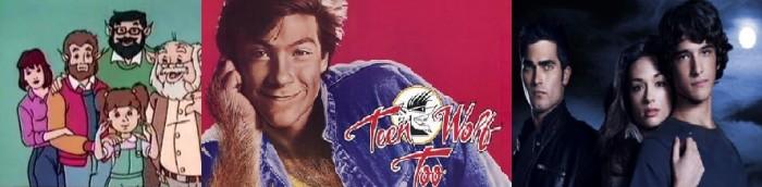 The Teen Wolf animated show - Teen Wolf Too - MTV's Teen Wolf TV series.