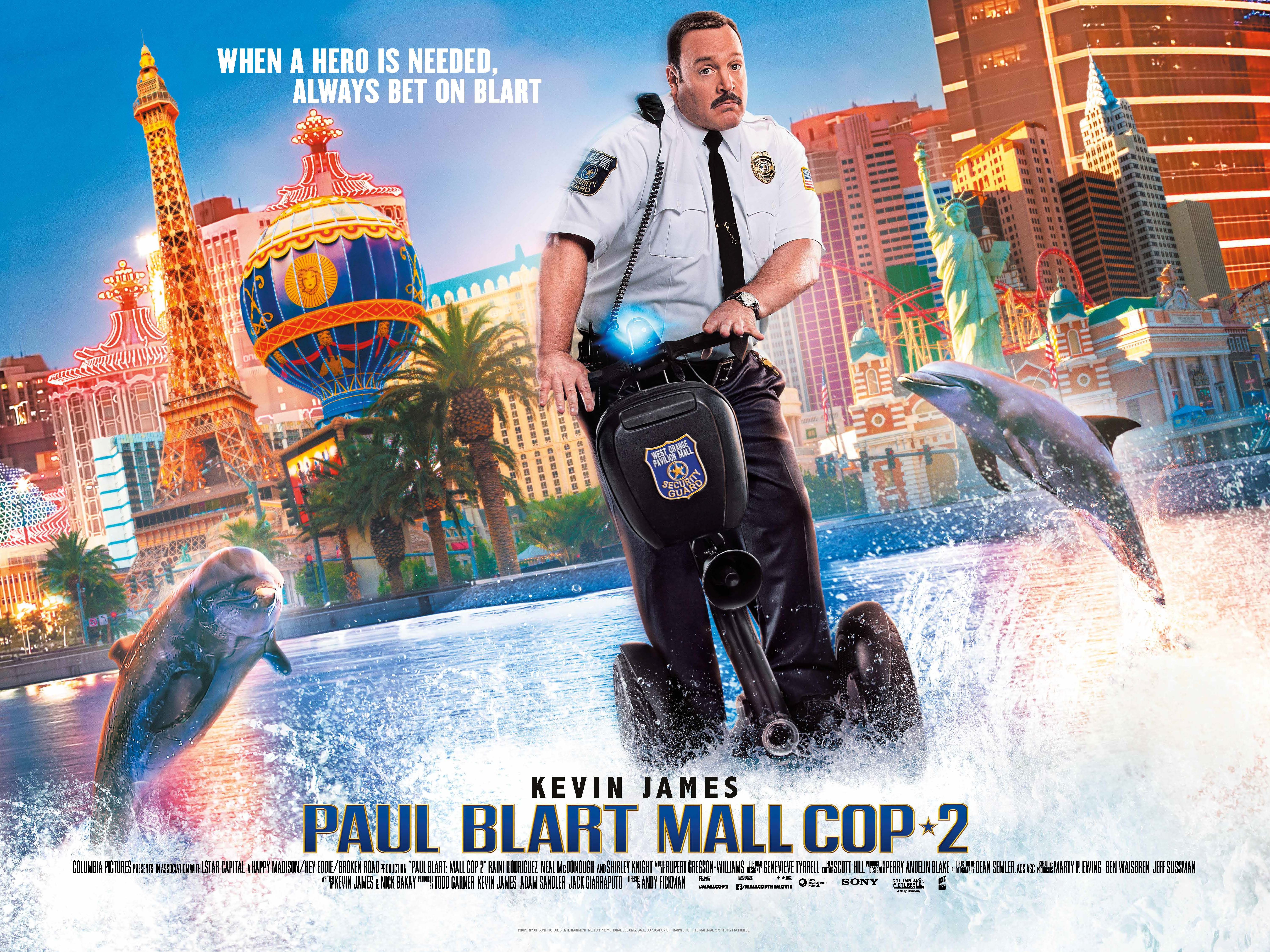 Movie Posters 2015: Paul Blart Mall Cop 2 Movie Poster 3