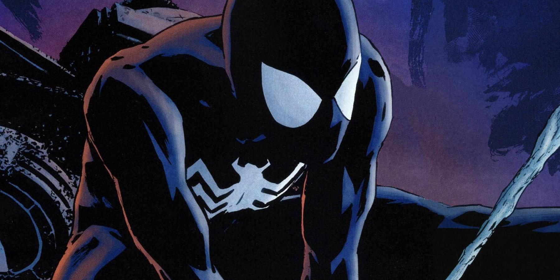 Spider-Man Black Suit - HeyUGuys