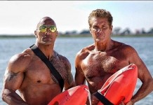 The Rock and David Hasslehoff Baywatch movie