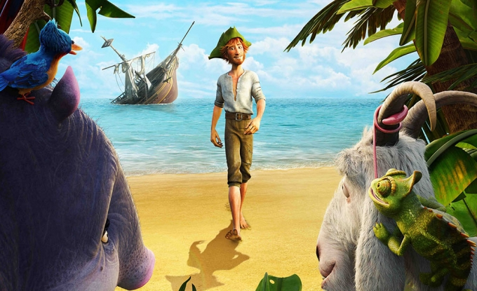Robinson crusoe 3d review heyuguys - Mercredi robinson crusoe ...