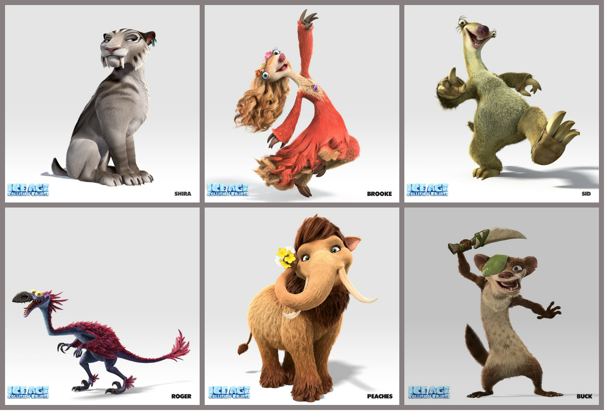 Ice Age Continental Drift Cast and Crew  Cast Photos and