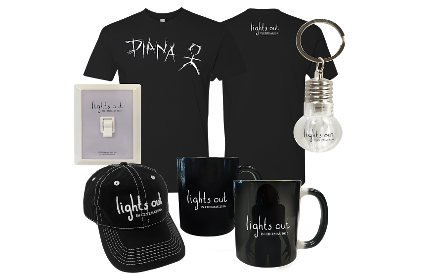 Win movie merchandise from Lights Out - HeyUGuys