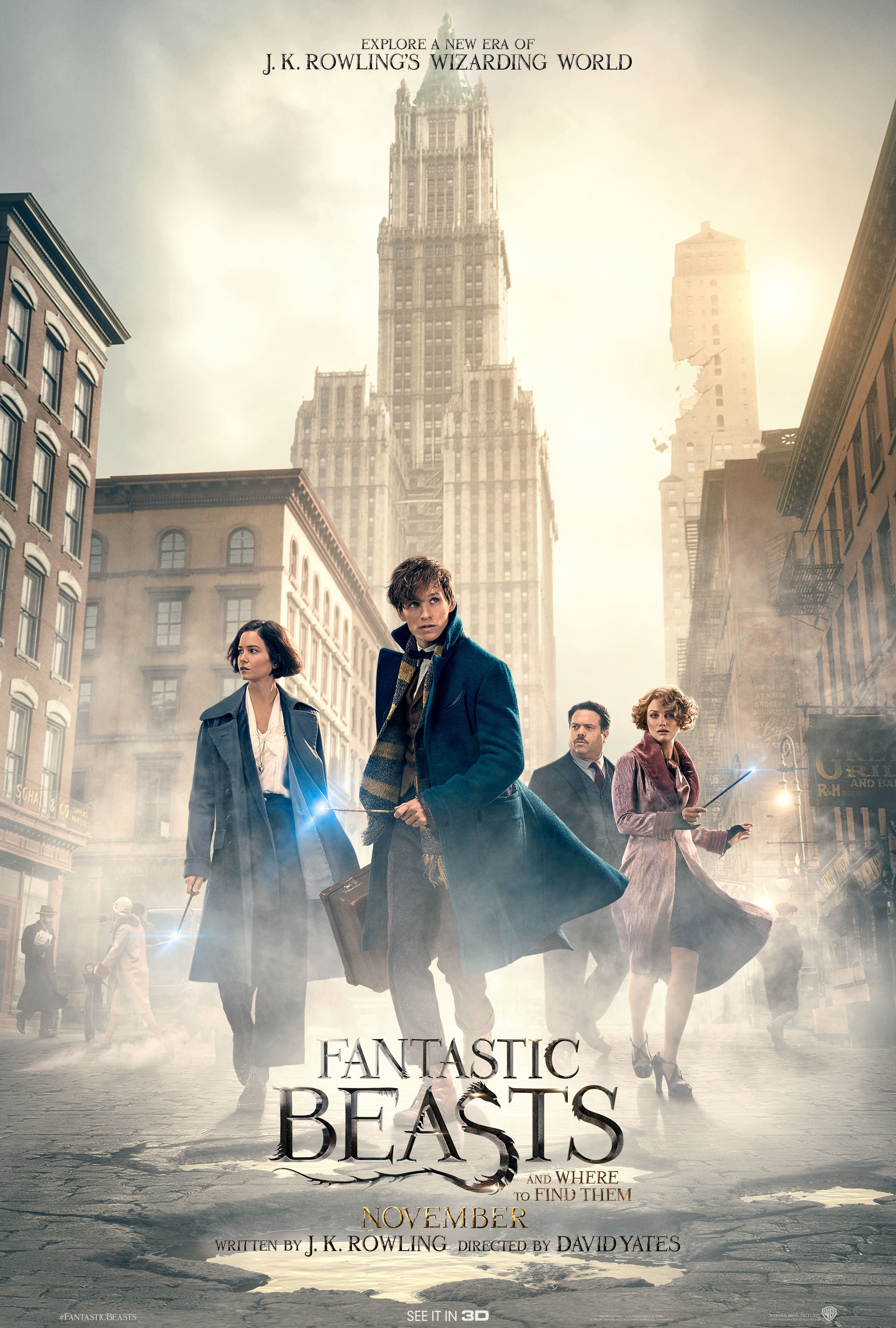 seek out the magic in the new trailer poster for fantastic beasts and where to find them. Black Bedroom Furniture Sets. Home Design Ideas