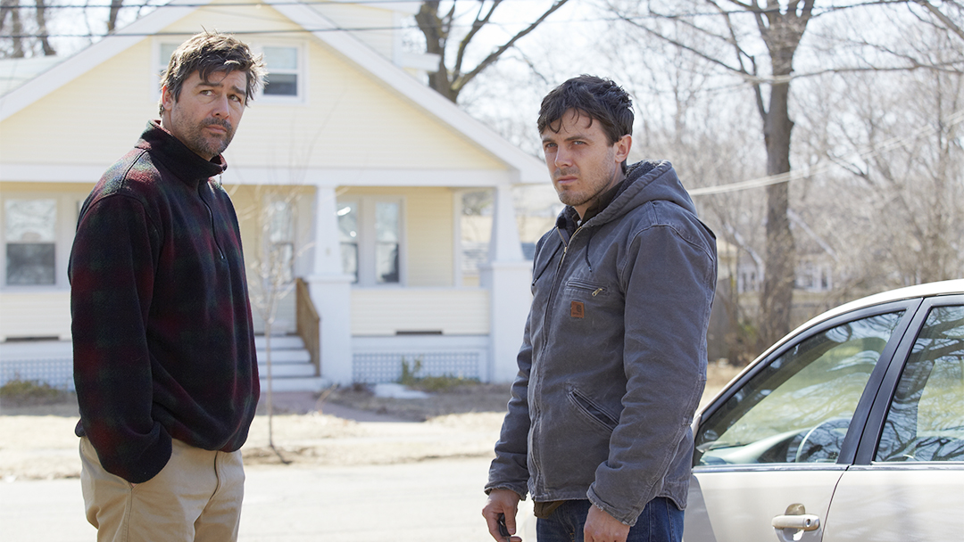 Kyle Chandler och Casey Affleck i Manchester By The Sea